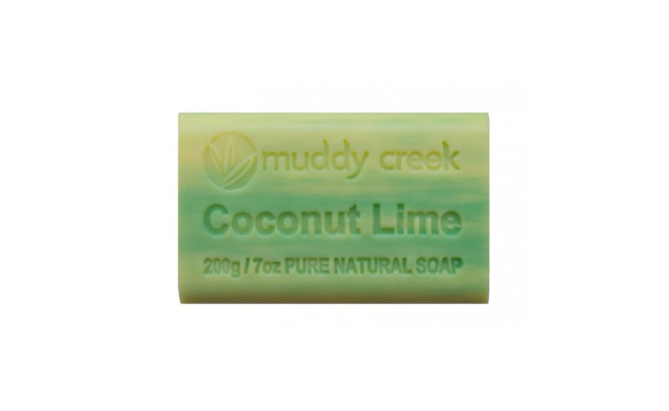 Muddy Creek Coconut Lime Soap COCONUT