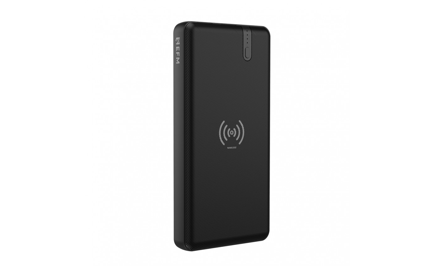 Force 15W Wireless Portable 10000mAh Power Bank EFPWPBU900BLA