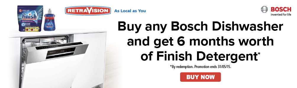 Bosch Dishwasher Bonus
