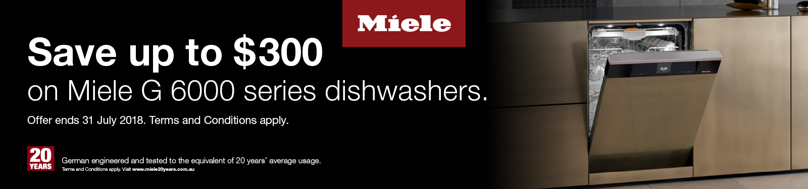 Miele 300 off Dishwashers
