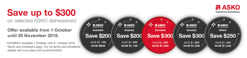 Asko Save up to $300