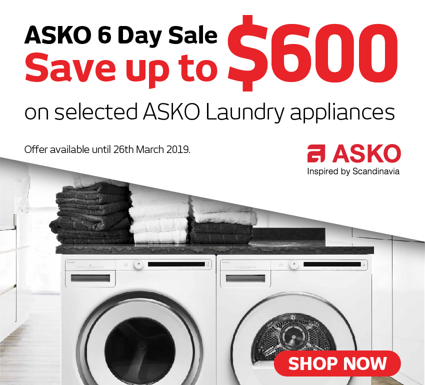 Asko 6 Day Sale
