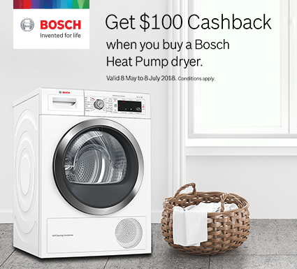 Bosch Heatpump Dryer Promotion
