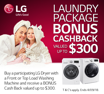 LG Dryer Promotion
