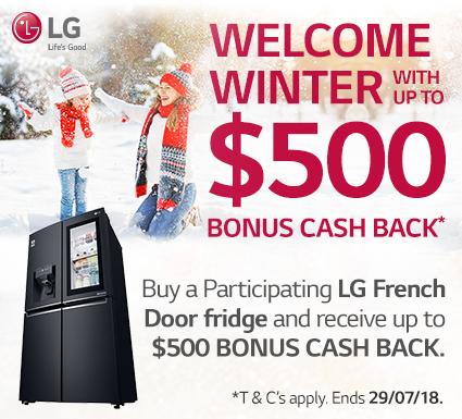 LG Fridge Promotion