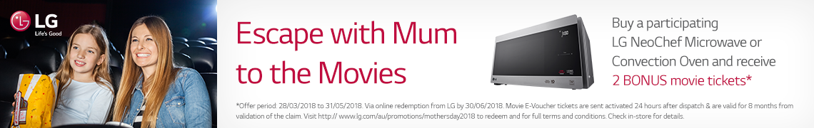 Escape with Mum to the Movies