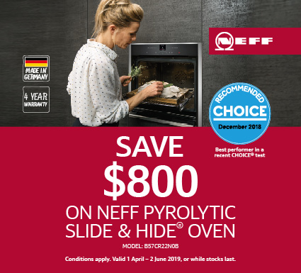 Neff Save up to $800 on Ovens