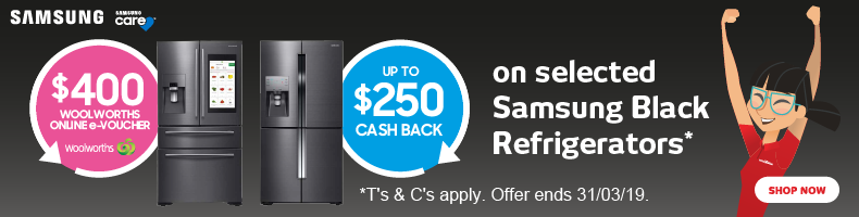 Samsung Fridges Vouchers & Cashbacks