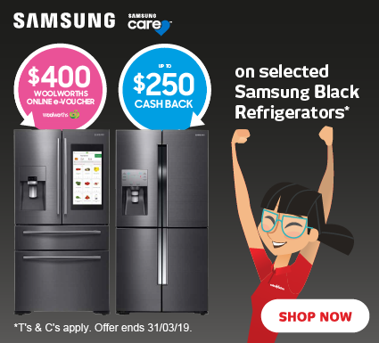 Samsung Fridge Vouchers & Cashbacks