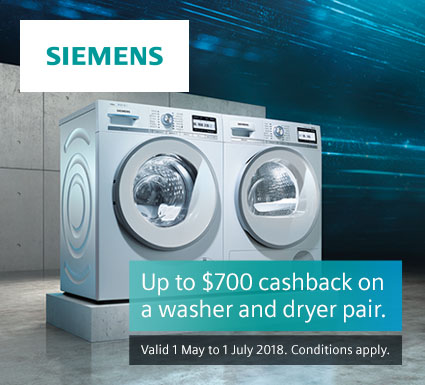Siemens Washer & Dryer