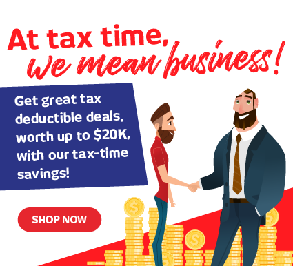 Tax Time Deals