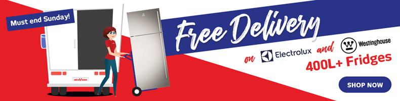 Free Delivery on Westinghouse / Electrolux