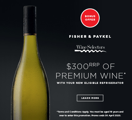 Bonus Premium Wine with F&P Fridges