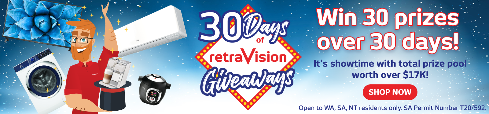 30 Days of Giveaways