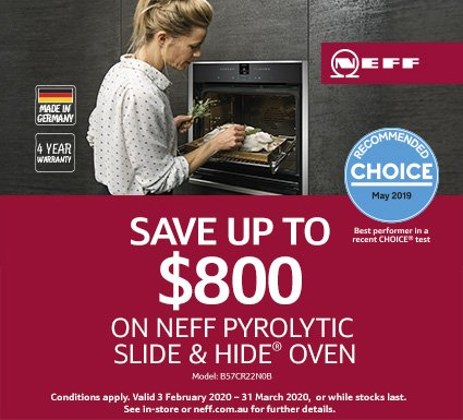 Neff Save Up To $800