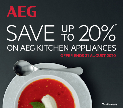 Save Up To 20% On AEG Cooking