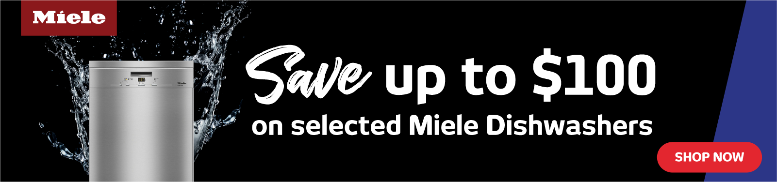 Save Up To $100 On Miele Dishwashers
