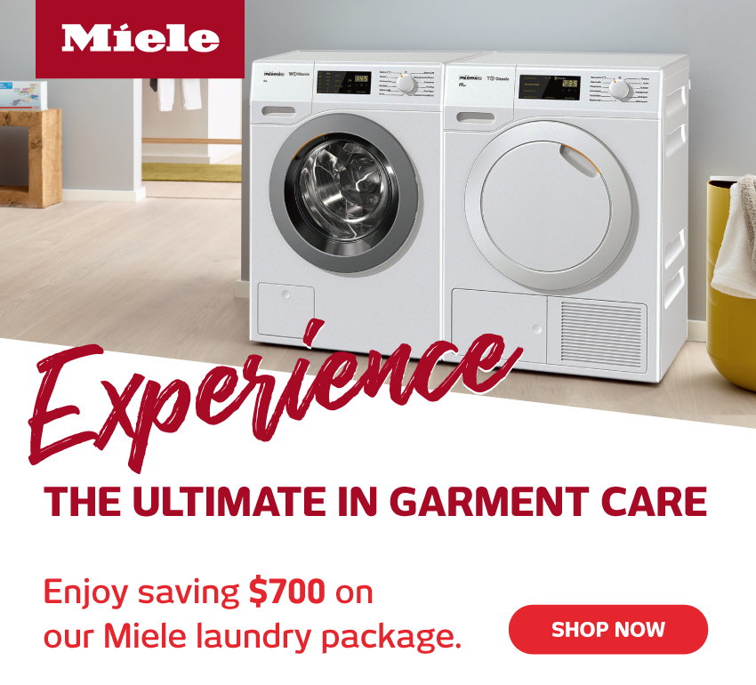 Save Up To $700 On Miele Laundry Packages
