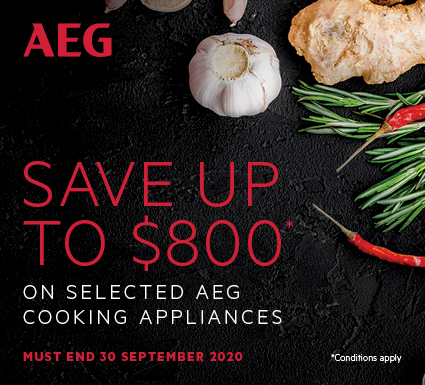 Save Up To $800 On Selected AEG Cooking Appliances