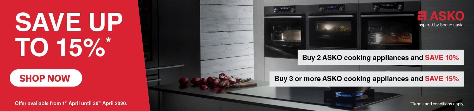 Save Up To 15% On Asko Cooking Bundles