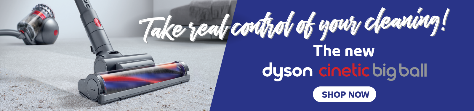Dyson's iconic Big Ball vacuum