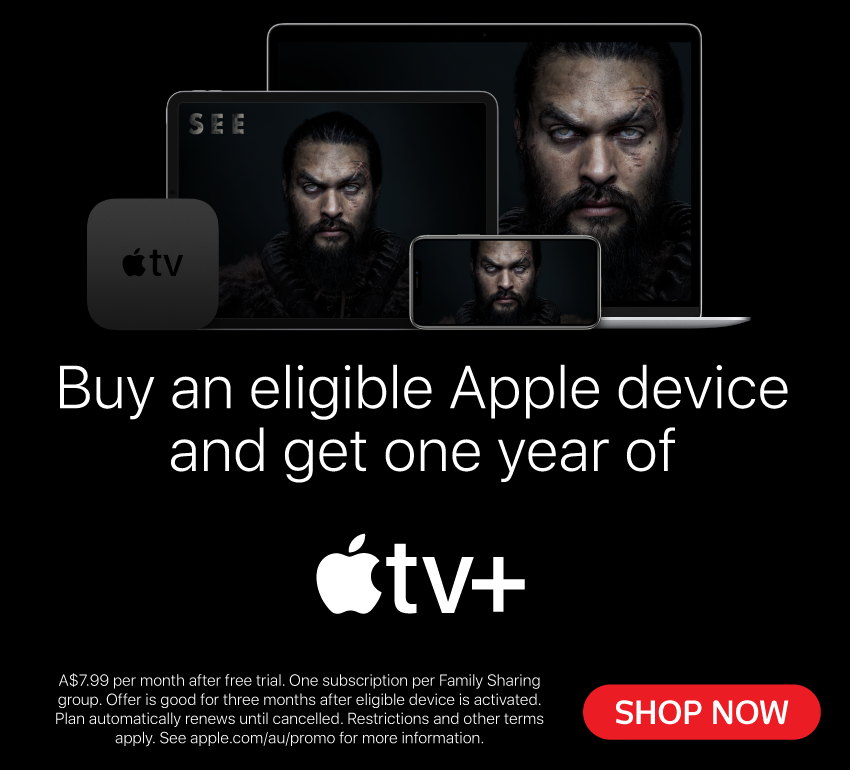 1 Year Free Apple TV+
