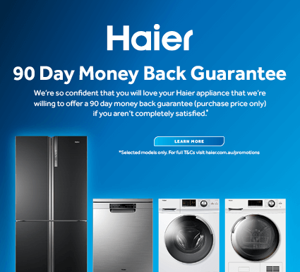 Haier 90 Day Money Back Guarantee