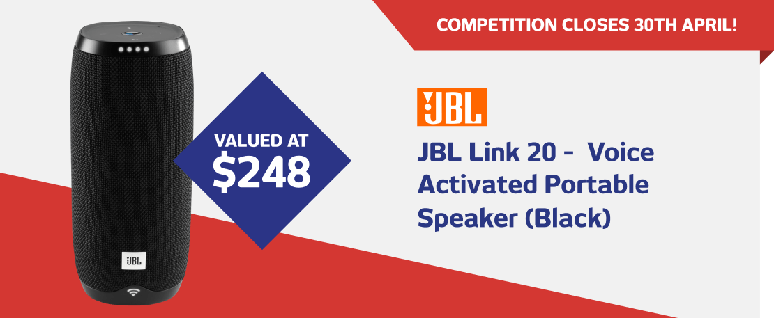 JBL Link 20 - Voice Activated Portable Speaker (3964906)