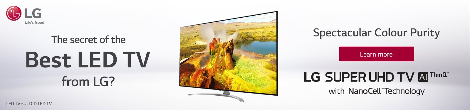 LG Super UHD Best TV