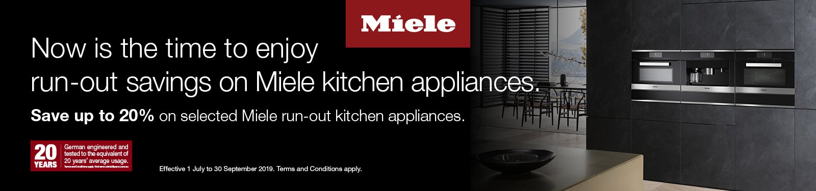 Miele Run Out