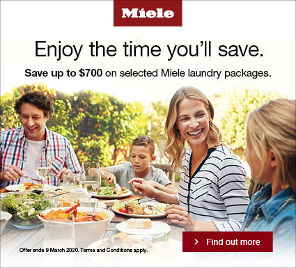 Miele Intelligent Living Laundry Promotion