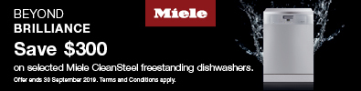 Miele Save up to $300