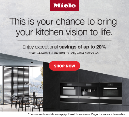 Miele Save up to 20% on Kitchen