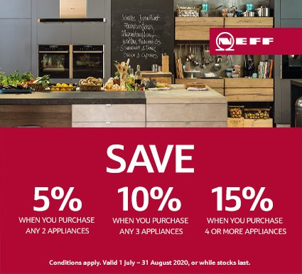 Neff Save up to 15