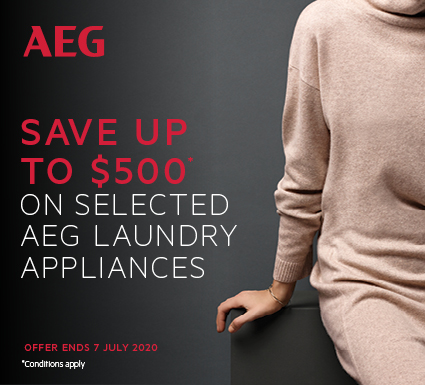 AEG Save $500 on Laundry