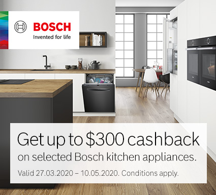 Bosch Kitchen Appliance Cashback