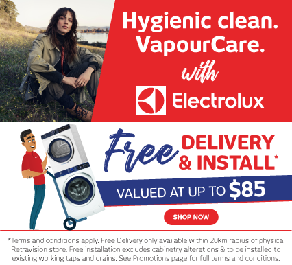 Electrolux Laundry Catalogue - Free Delivery & Install