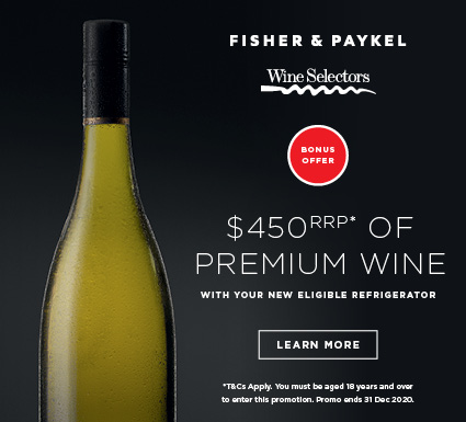F&P Refrigeration $450 of Premium Wine Promotion