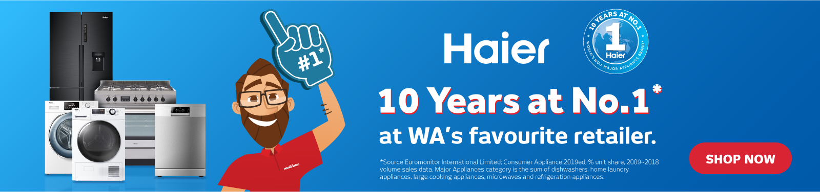 Haier 10 Years At #1