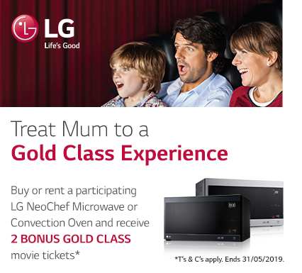 LG Mother's Day Microwave and Convection Ovens