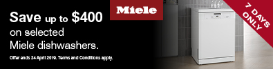 Miele Dishwasher Promotion