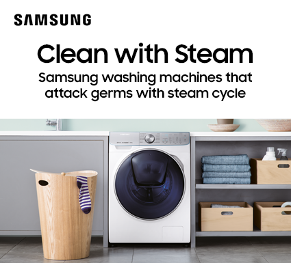 Samsung Clean With Steam Laundry