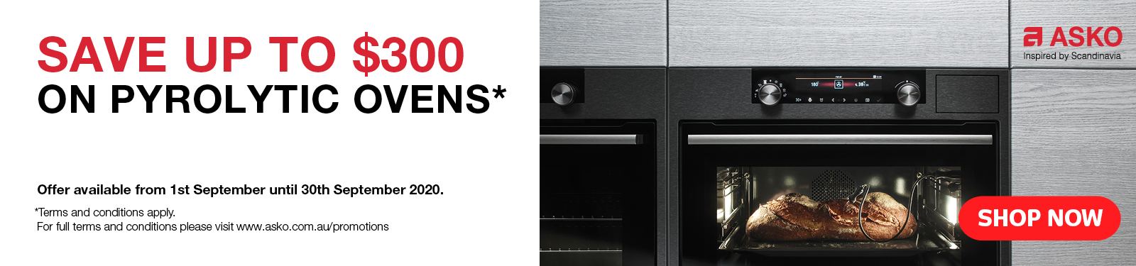 Save Up To $300 On Asko Ovens