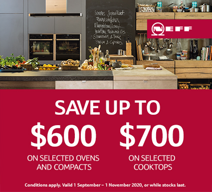 NEFF Save On Cooking