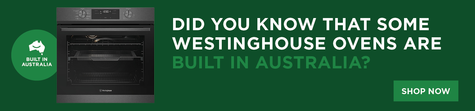 Westinghouse Ovens Built In Aus