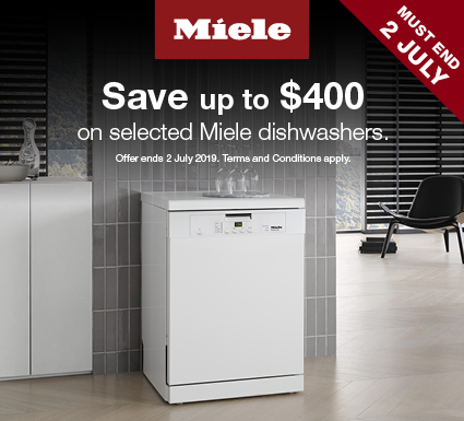 Save up to $400 on Miele Laundry