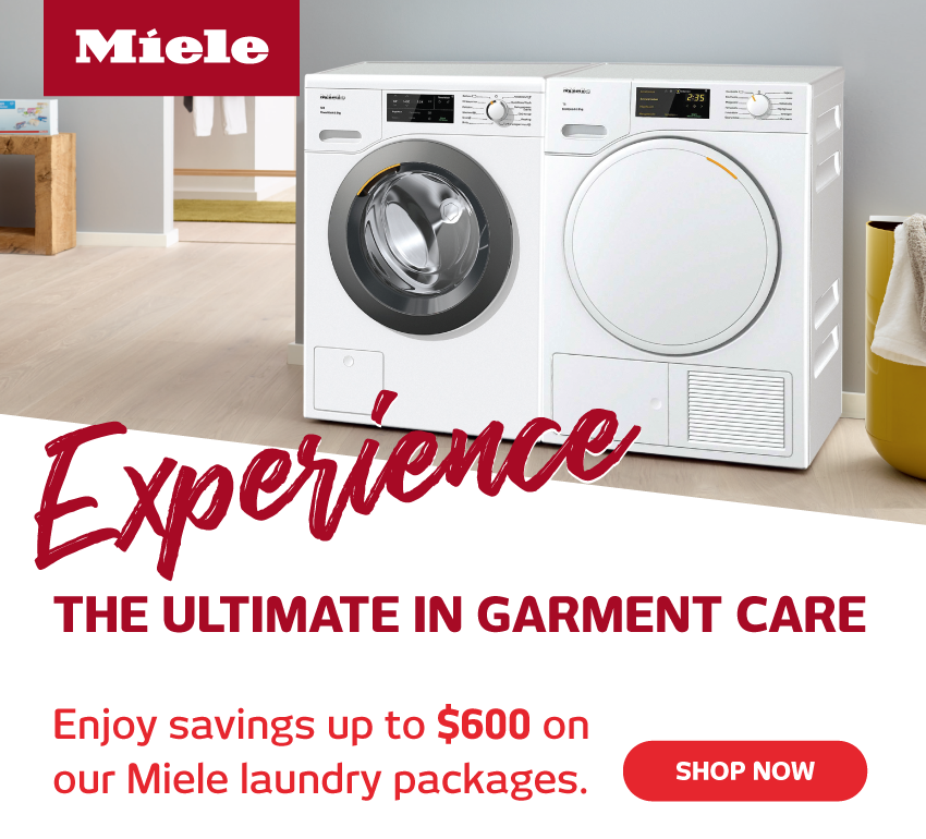 Save Up To $600 On Miele Laundry Packages