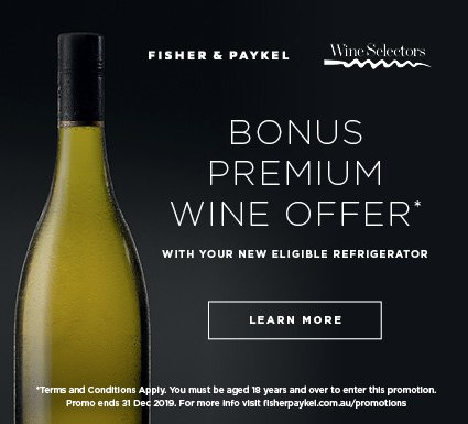 Bonus Wine with Eligible F&P Fridges