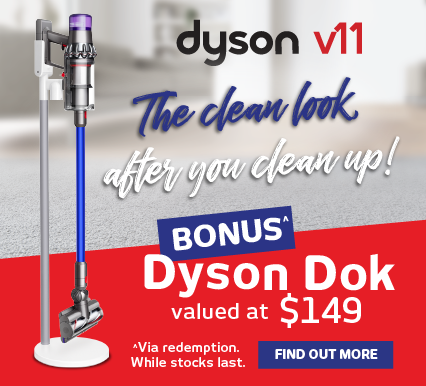 Bonus Dyson Dok valued at $149