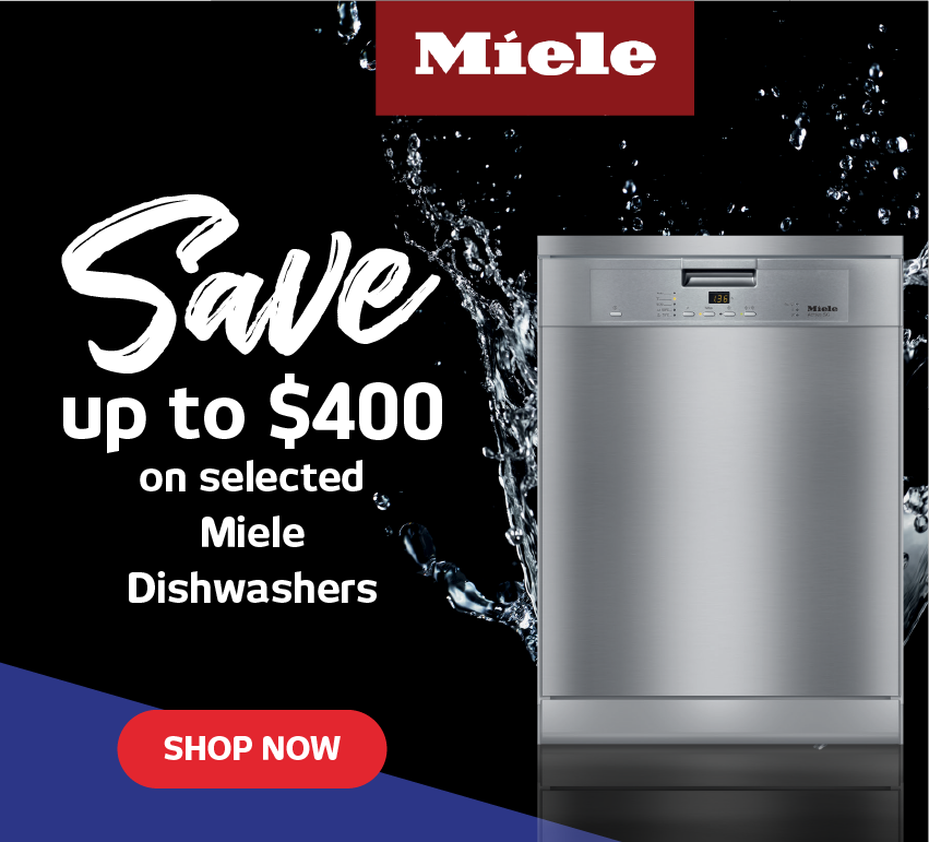 Save up to $400 on Miele Dishwashers